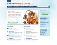 Developer Hub Homepage Mock-up