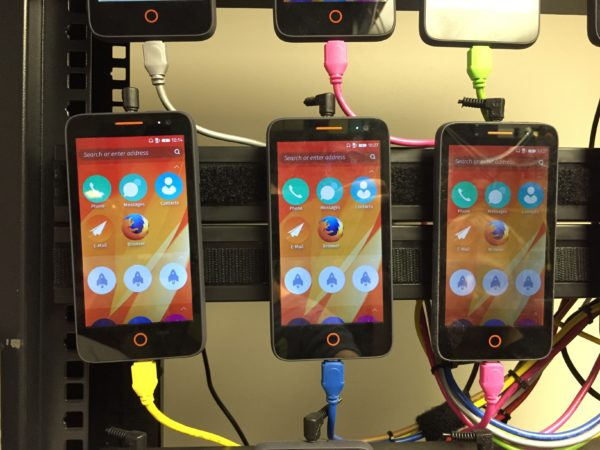 Firefox OS reference devices