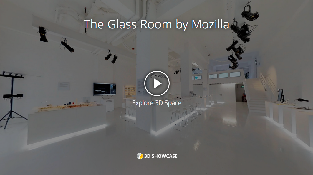 Experience The Glass Room London in WebVR