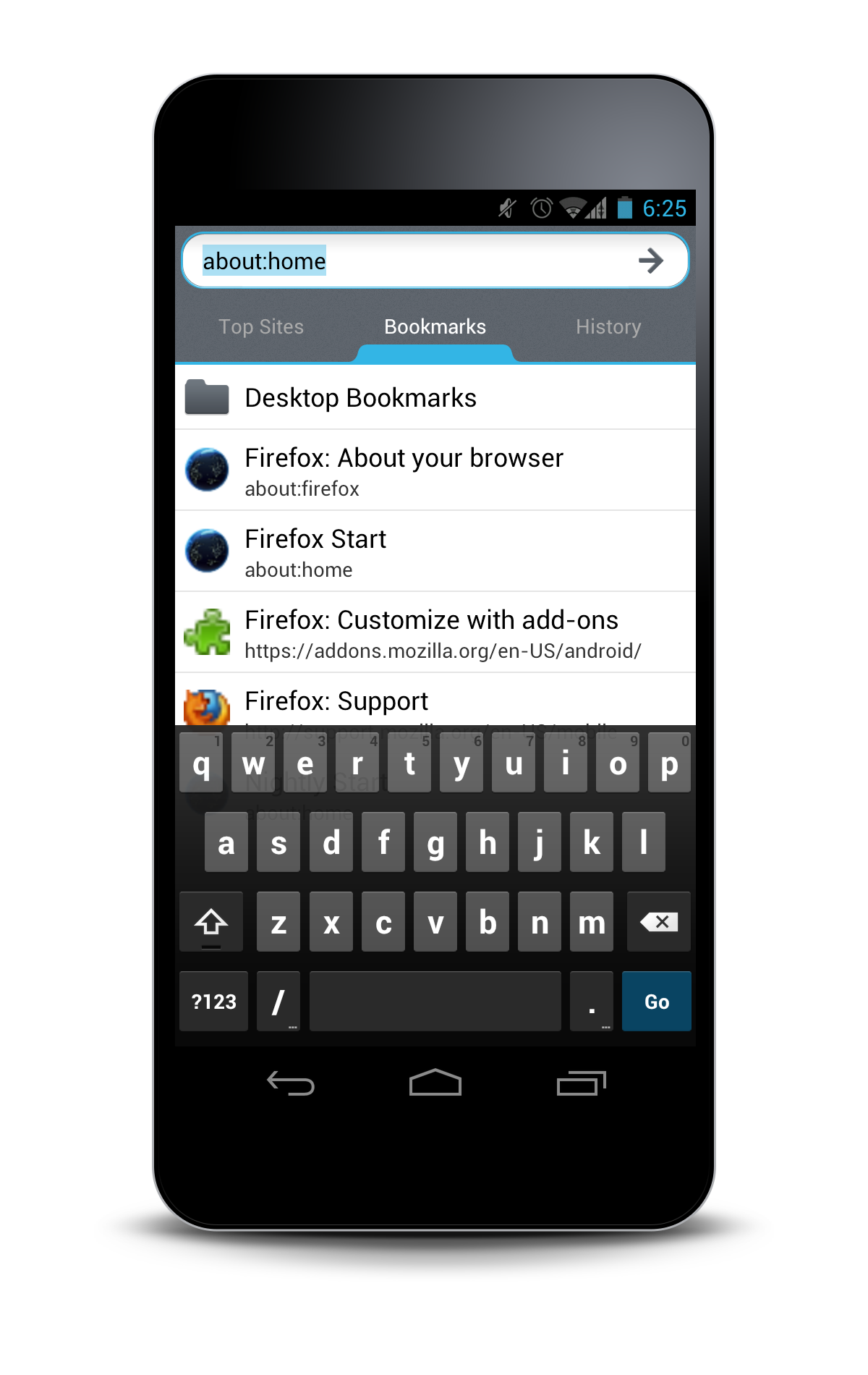 Visual Reboot of Firefox Mobile for Android | Mozilla UX