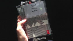My conference badge!