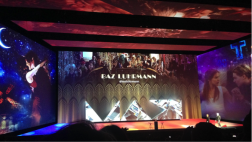 Baz Luhrmann walked on to the stage.
