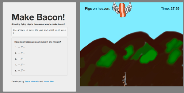 Make Bacon game screenshot