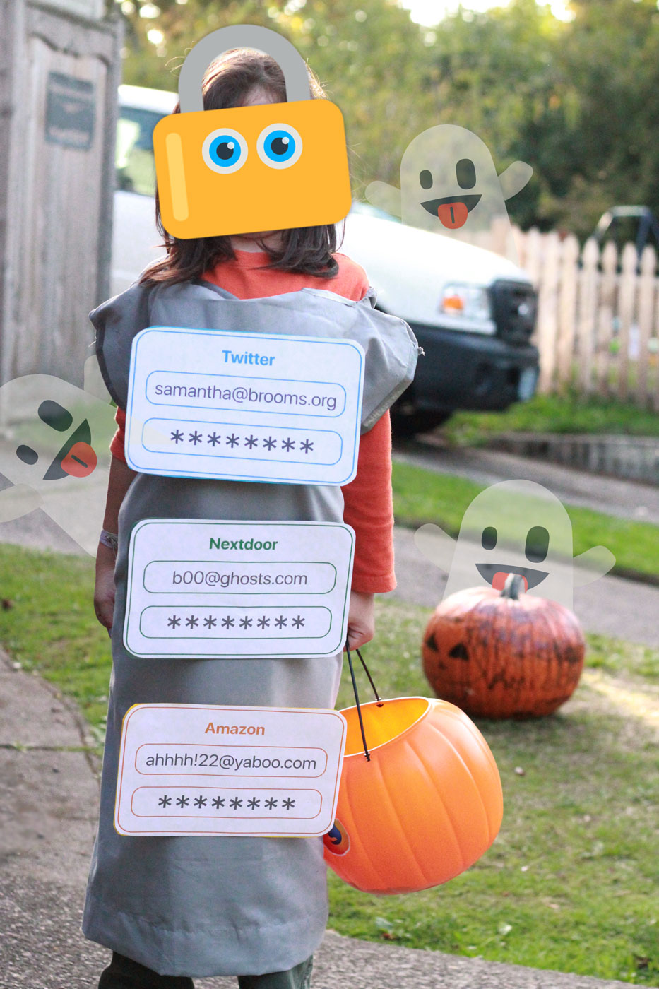 password manager costume