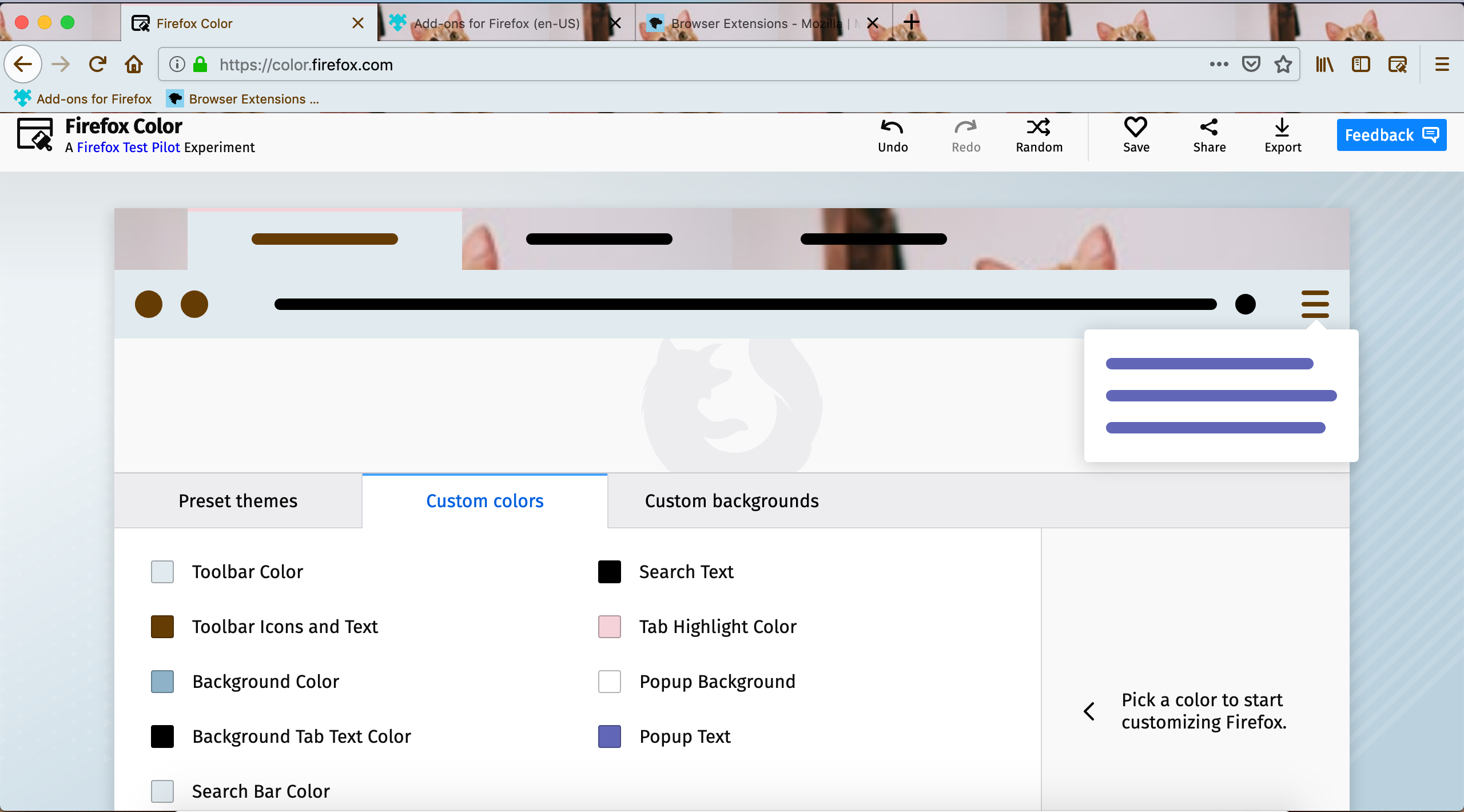 Design and create themes for Firefox | Mozilla Add-ons Blog