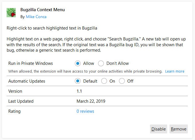 Extensions in Firefox 67 | Mozilla Add-ons Blog