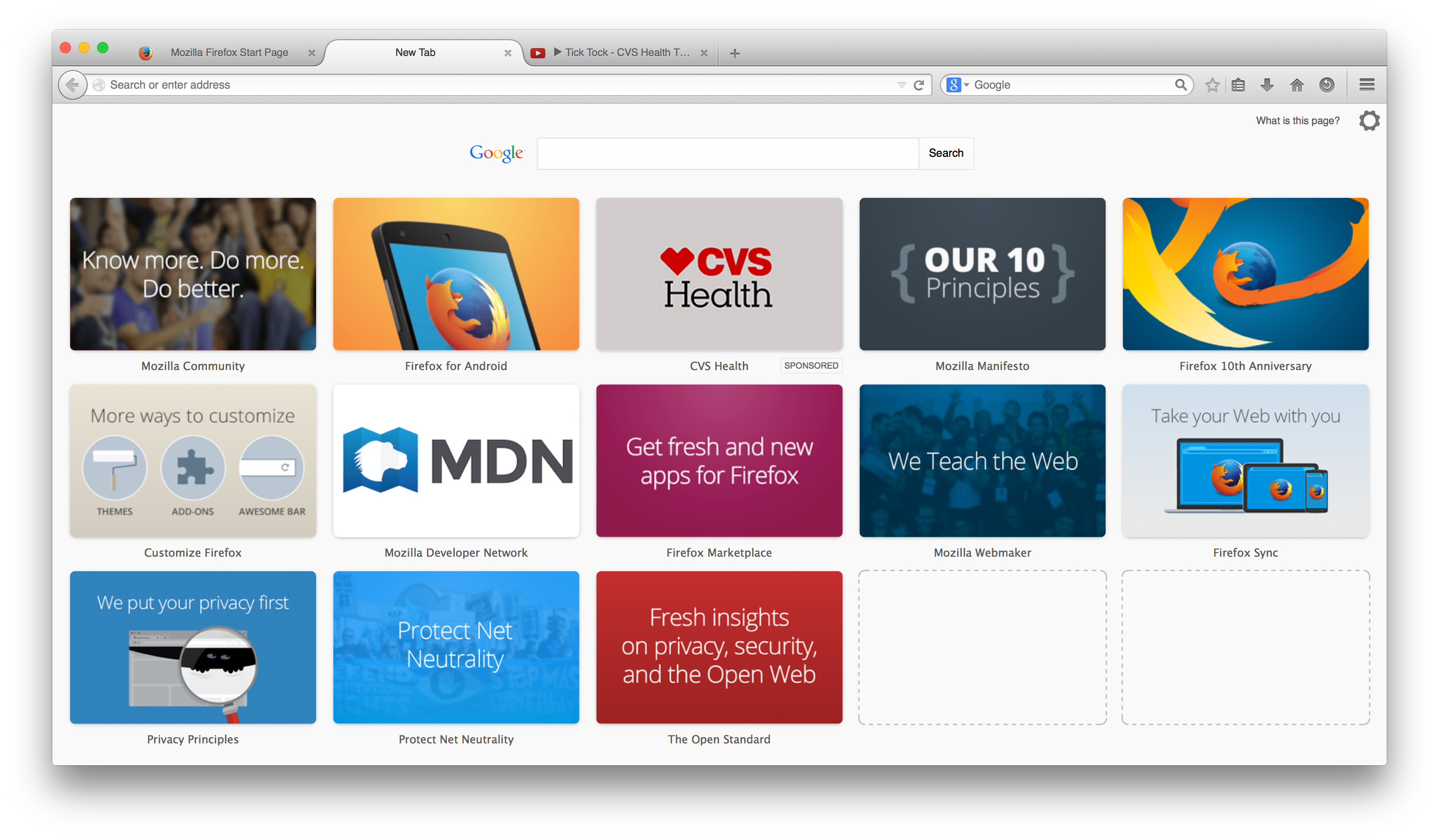 Advancing Content | Official blog for Mozilla's Content