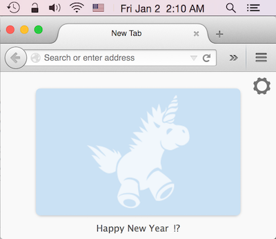 Happy New Year Tile... might be a day late!