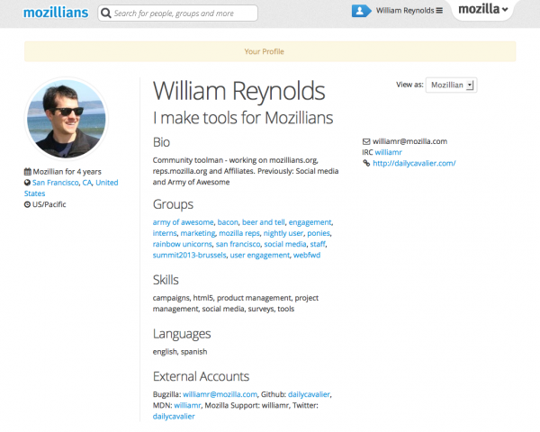 mozillians.org profiles are now filled with more useful information
