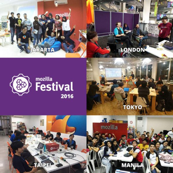 Connected Spaces at MozFest