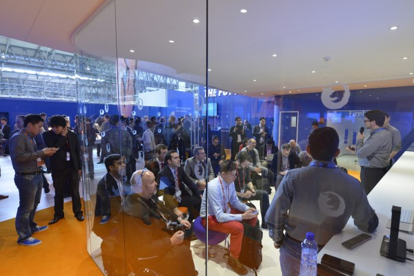 The Future of Firefox OS, demonstrated in the Fox Den at MWC 2014