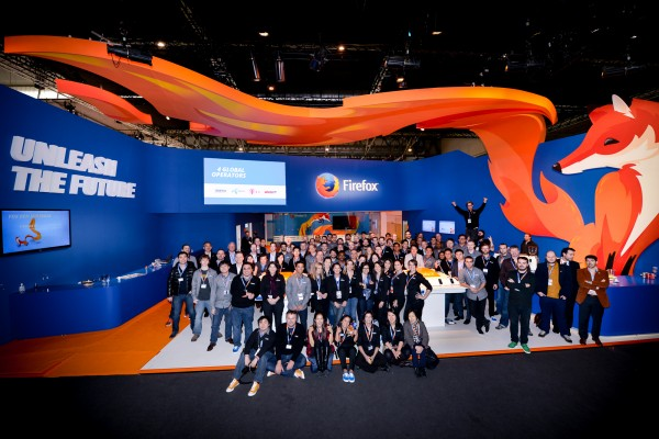 A Firefox OS farewell from the Fira Gran Via, Barcelona at MWC 2014