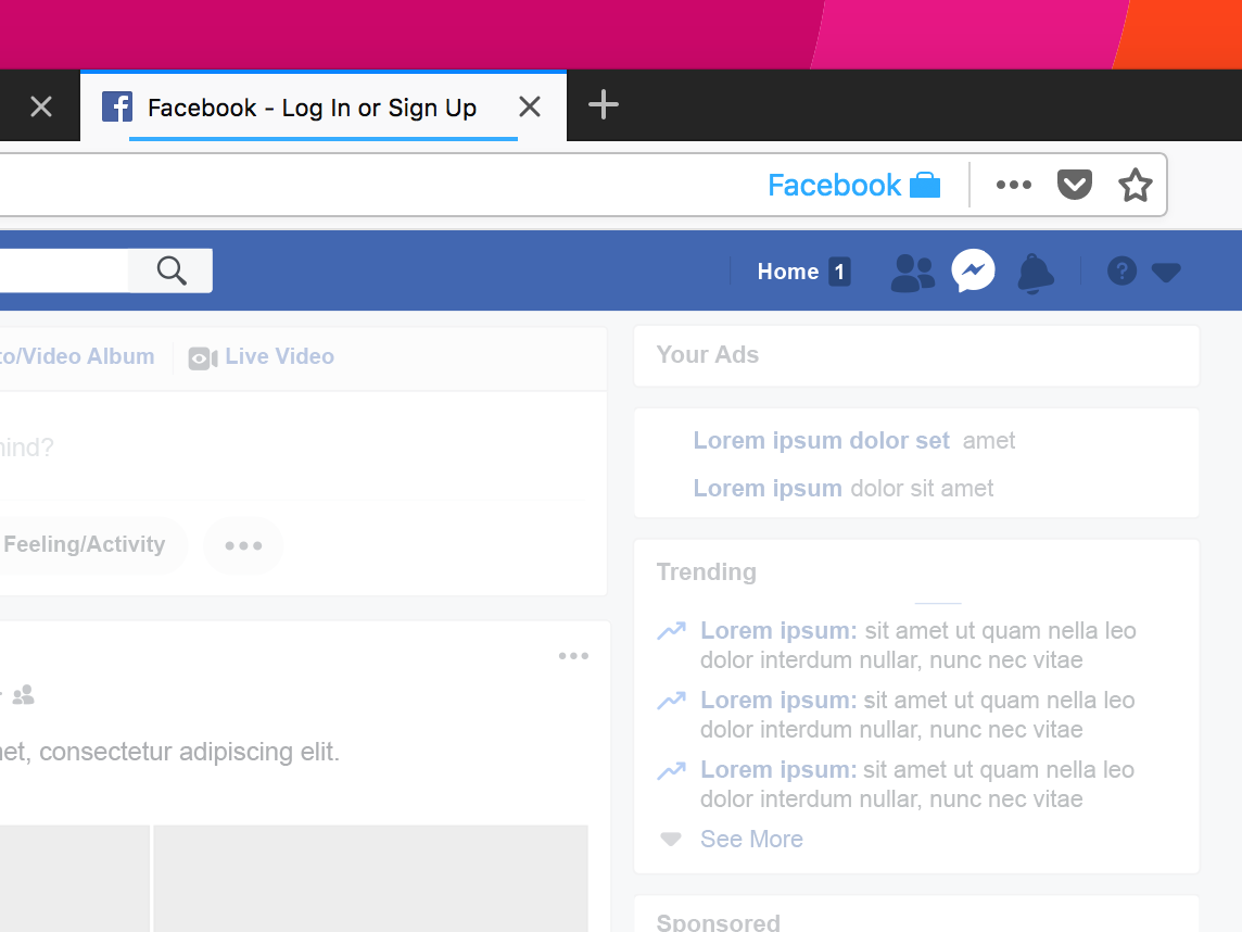 Facebook Container Extension: Take control of how you're being