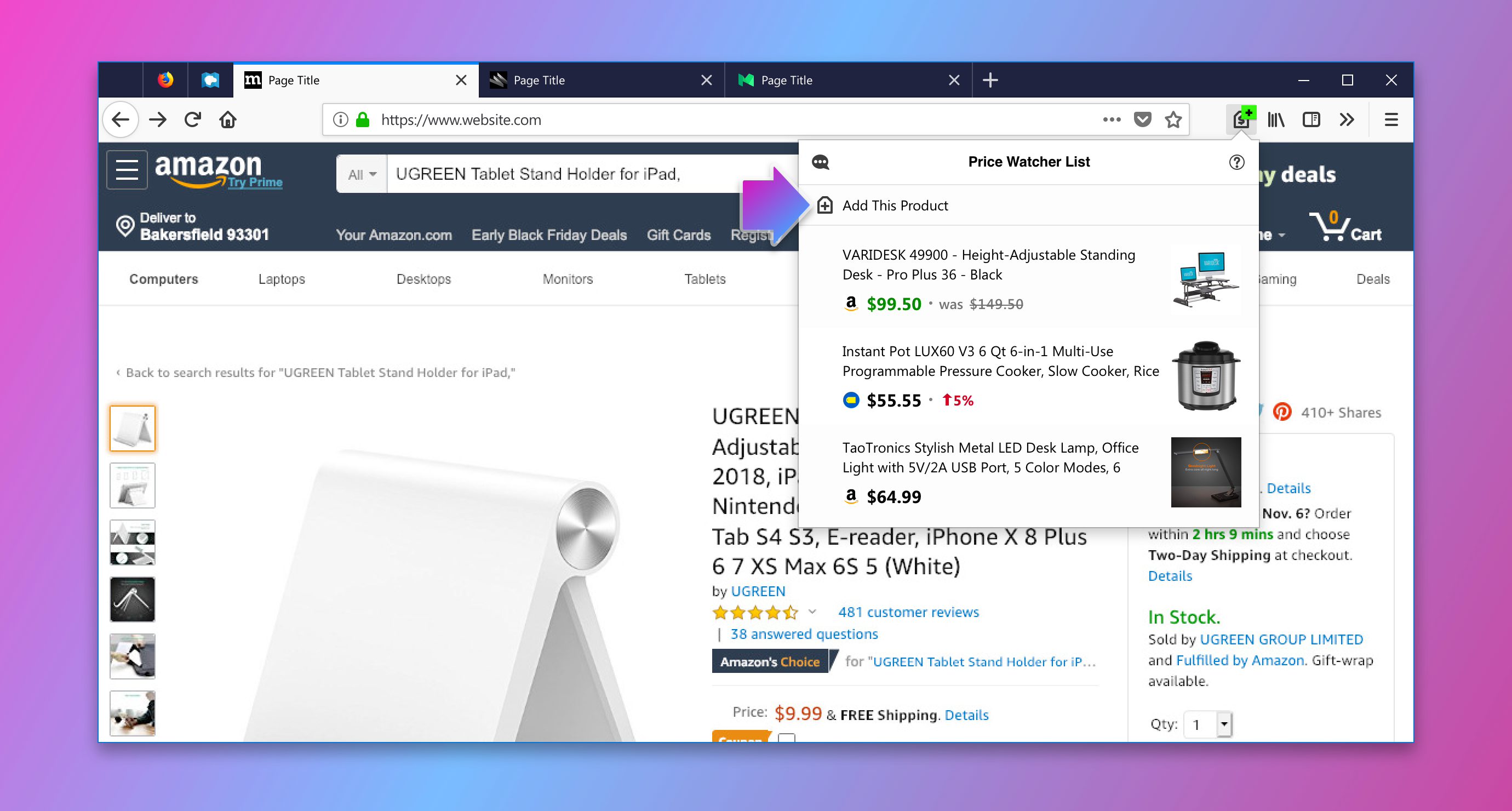 let price wise track prices for you this holiday shopping season