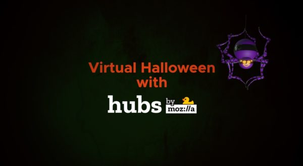 Virtual Halloween with Mozilla Hubs