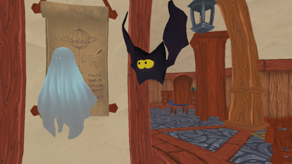 Virtual Halloween selfies in Mozilla Hubs
