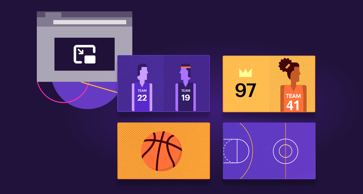 Firefox Multi Picture in Picture feature to watch basketball