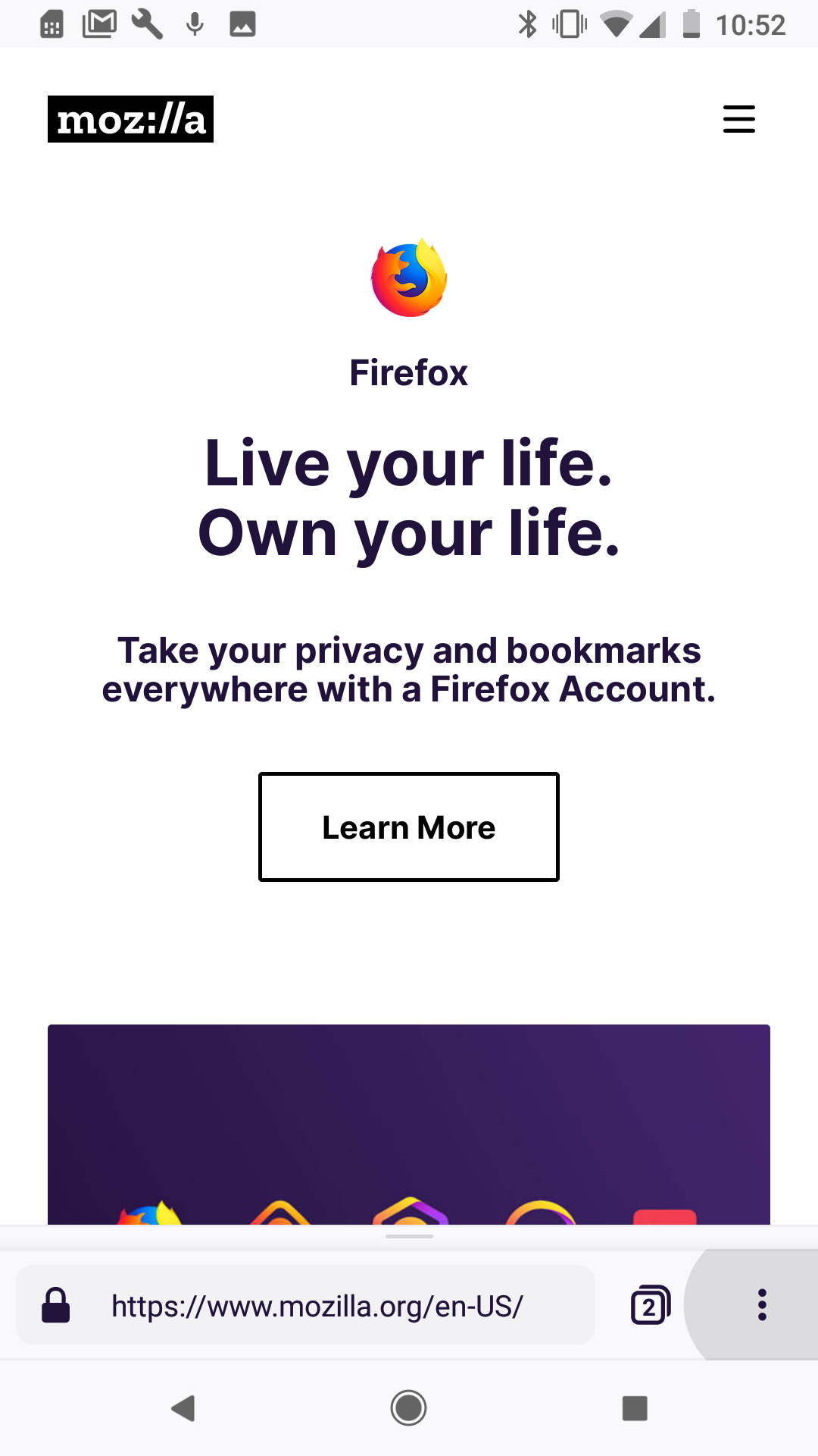 Reinventing Firefox for Android: a Preview - Future Releases