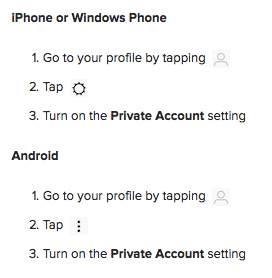 Instagram privacy: A tour for new users