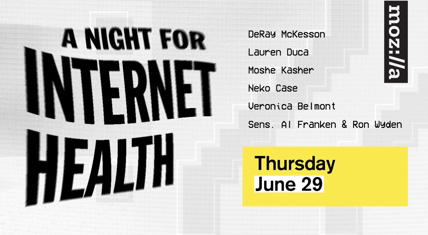 a night for internet health
