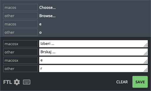 Selectors in attributes