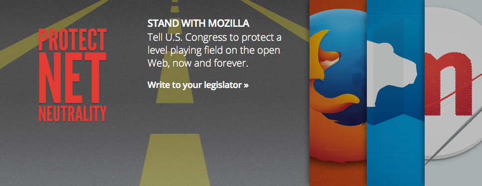 image from Mozilla 2014 advocacy campaign and petition