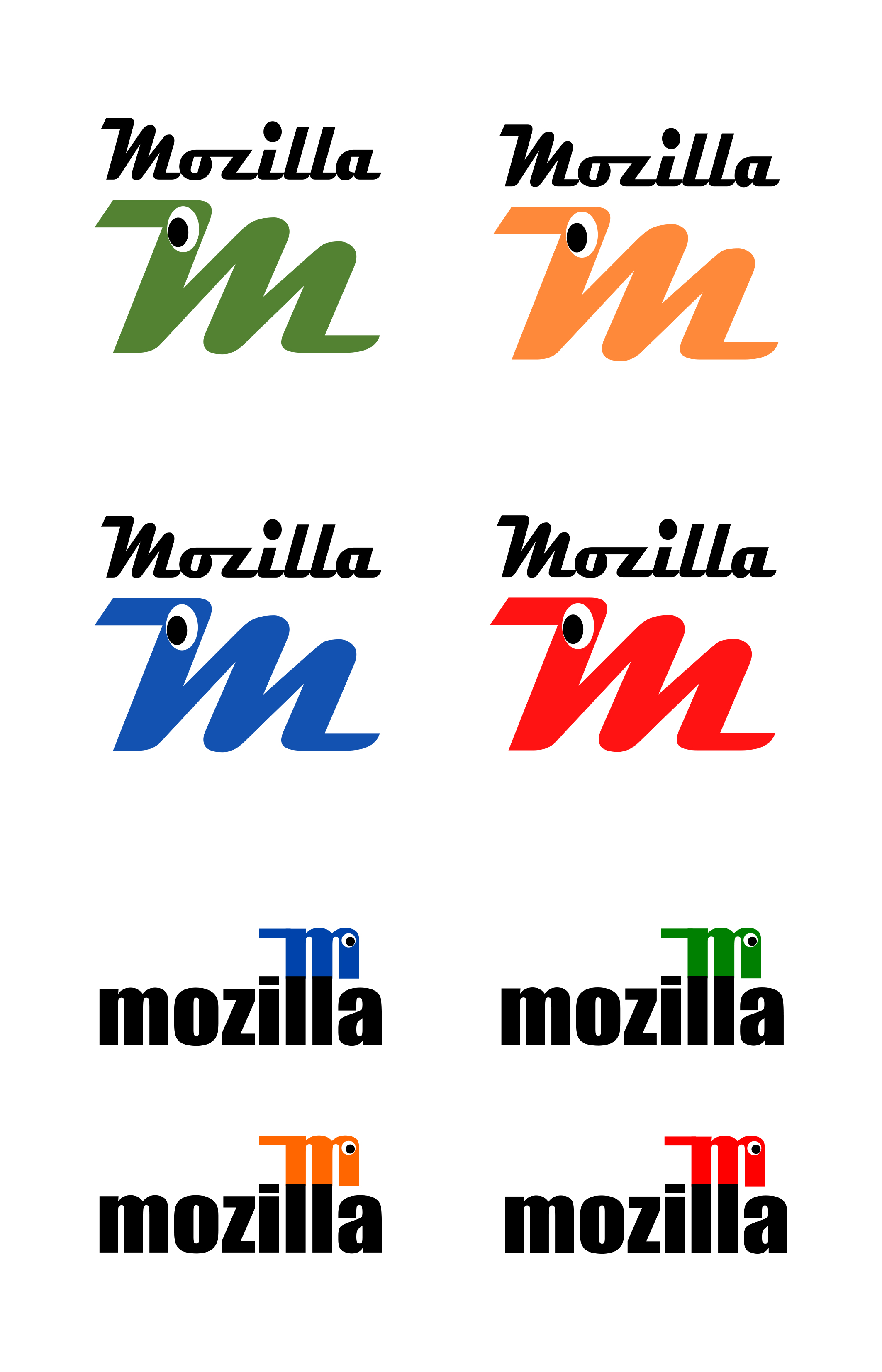 now for the fun part of mozilla u0026 39 s logo design