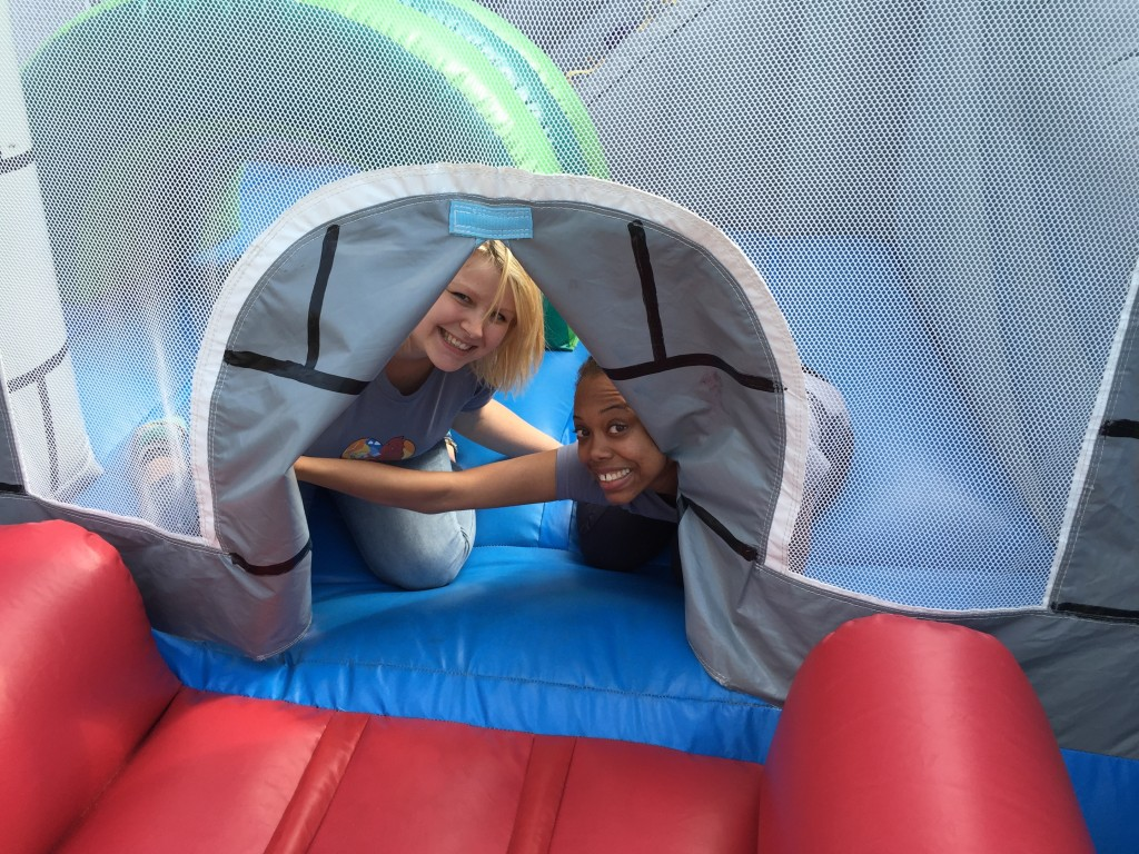 PAR Family Day 2015 Bounce House/WPR