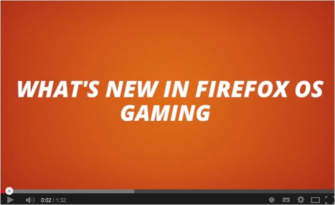 Firefox OS Gaming