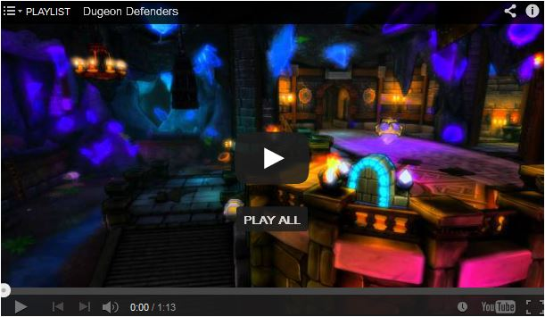 Sneak Peak Dungeon Defenders