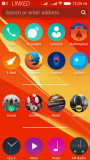 Homescreen Column Layout screenshot