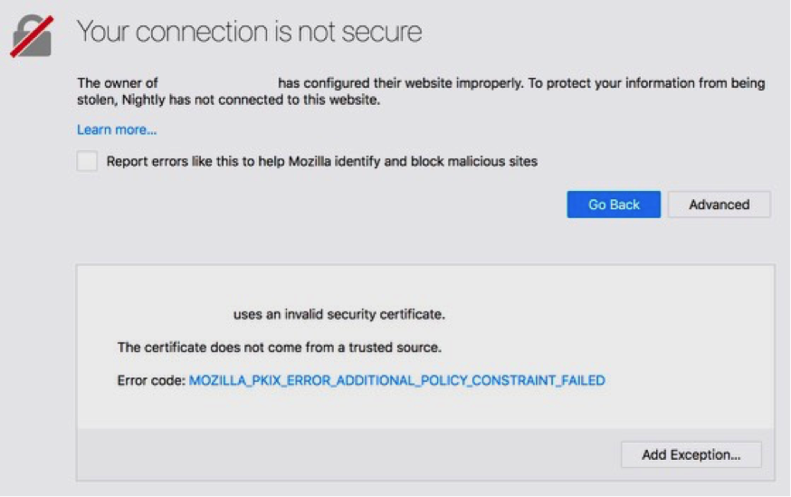 Distrust of Symantec TLS Certificates | Mozilla Security Blog