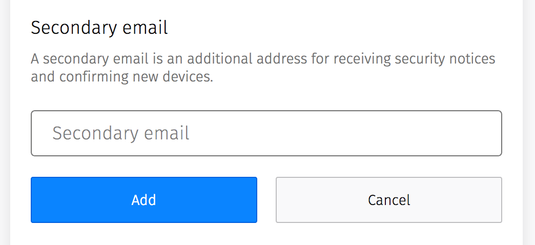Changing your primary email in Firefox Accounts | Mozilla