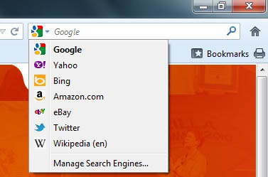 Search Your Way With The Firefox Search Bar The Den