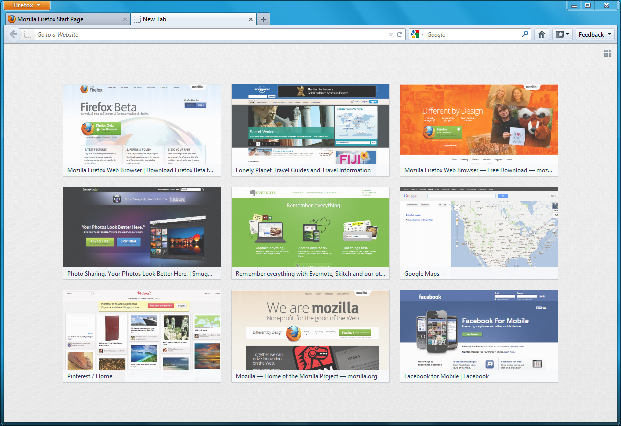 Update On Firefox 13 S Home And New Tab Redesign Ux