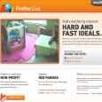 The Firefox Live website returned as a marketing campaign to educate Firefox users about Mozilla's mission to put the greater good of the Web first. The site showed live video […]