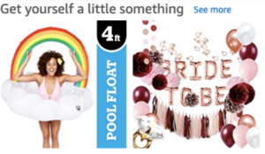 Targeted Advertising: Amazon Ad