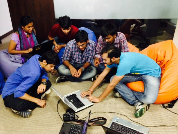 Creating 300 new makes on Webmaker in under an hour in Hyderabad