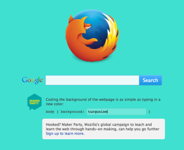 remixable-firefox-start-page