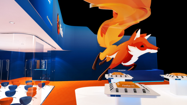 Mozilla's stand at Mobile World Congress 2015, Hall 3, Stand 3C30