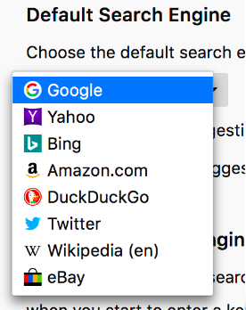 how to make google canada default search engine in firefox