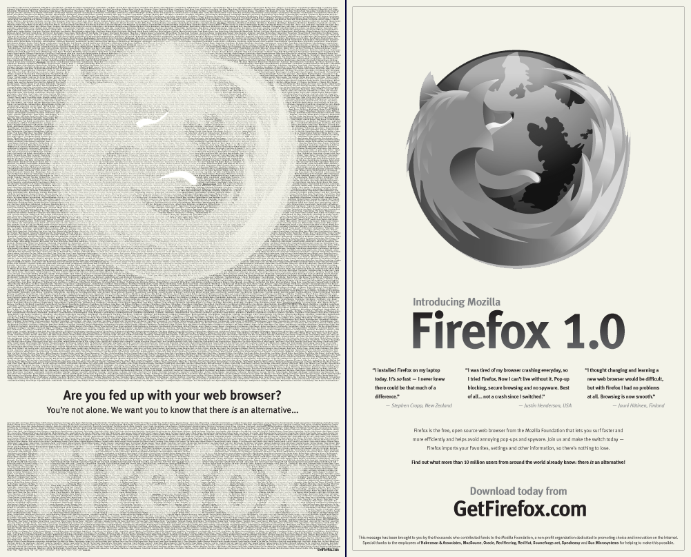 Image result for mozilla ad new york times