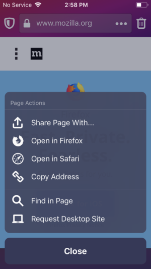 New Firefox Focus comes with search suggestions, revamped