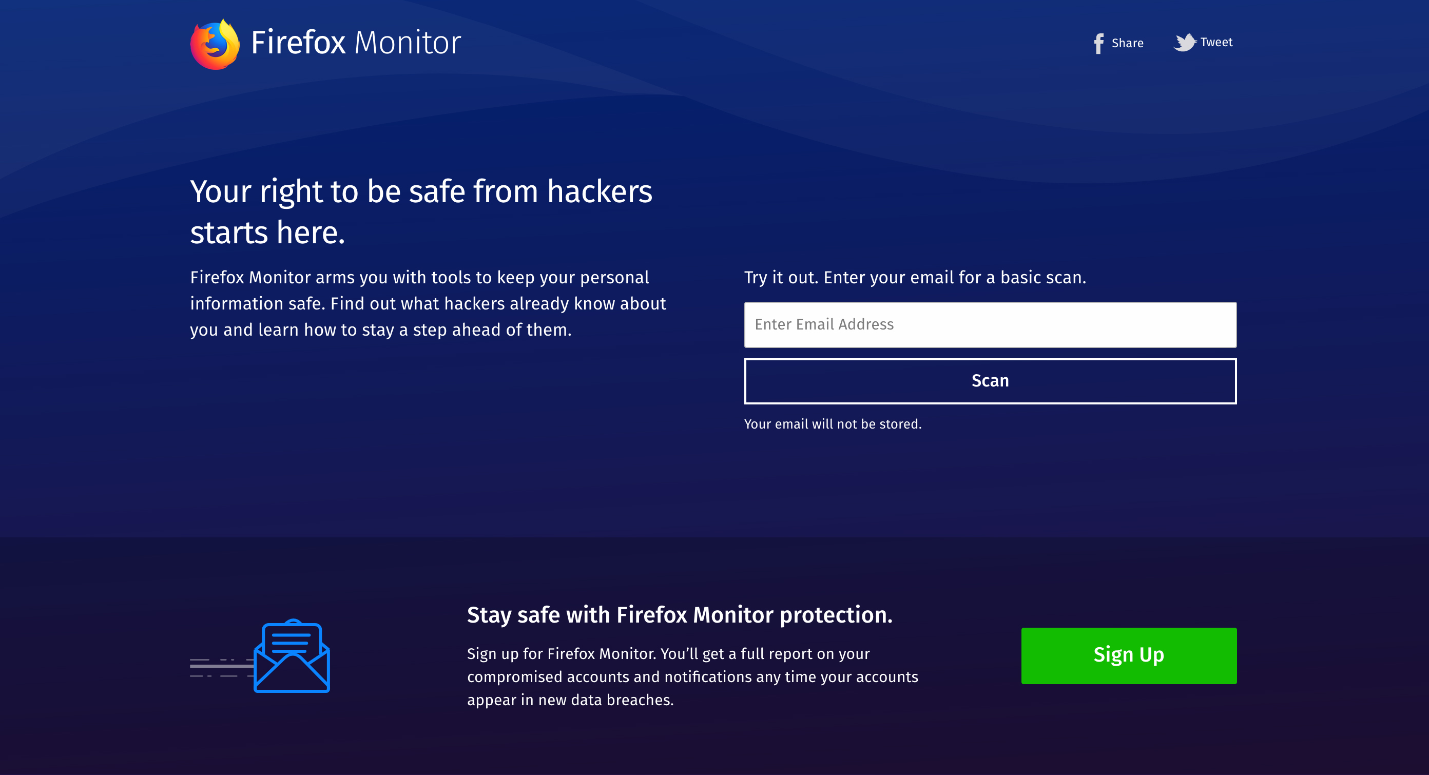 Image result for Firefox Monitor
