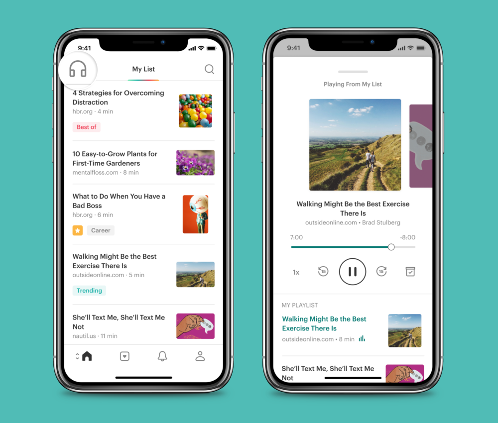 Pocket Offers New Features to Help People Read, Watch and