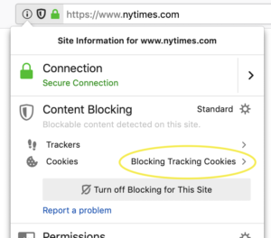 Today's Firefox Blocks Third-Party Tracking Cookies and